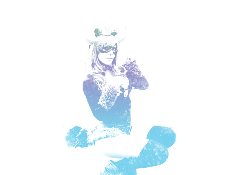 Jessica Nigri Gradient filter manipulation