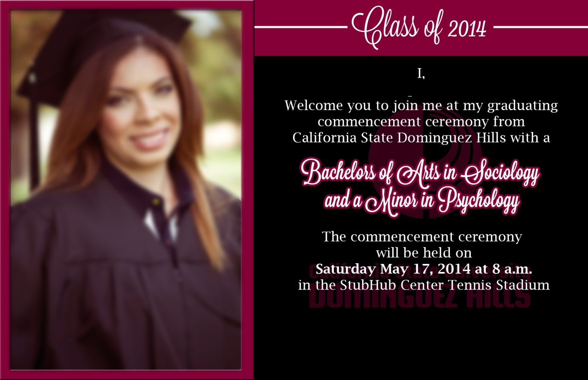College Graduation Invite